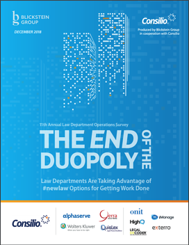 LDO Survey 2018 - The End of the Duopoly